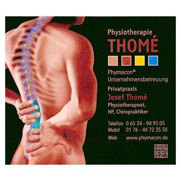 Kundenreferenz Vitalberatung Trier Silke Bräuer: Physiotherapie Thomé